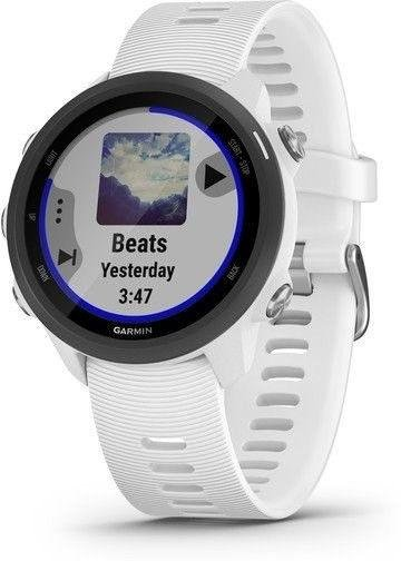 Montre Garmin Garmin Forerunner 245 Music Optic White
