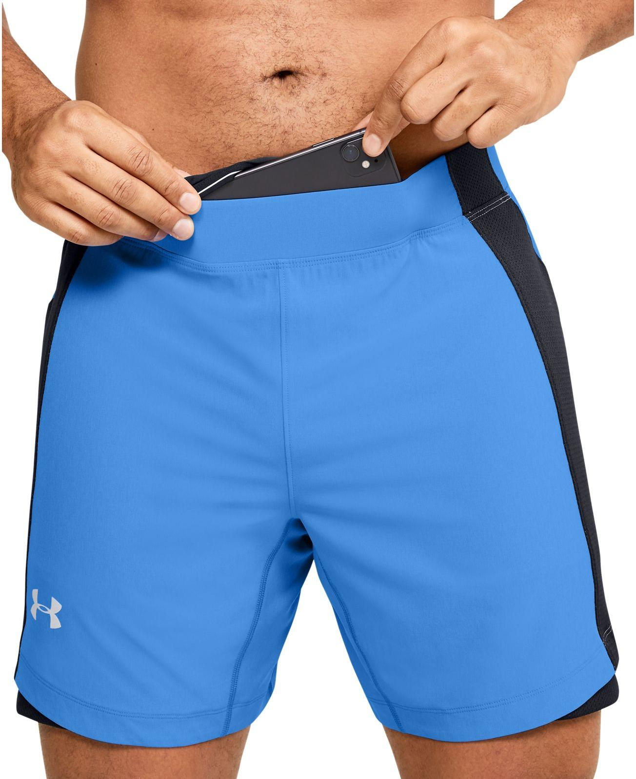 Pantalons courts Under Armour UA QUALIFIER SPEEDPOCKET 7 SHORT