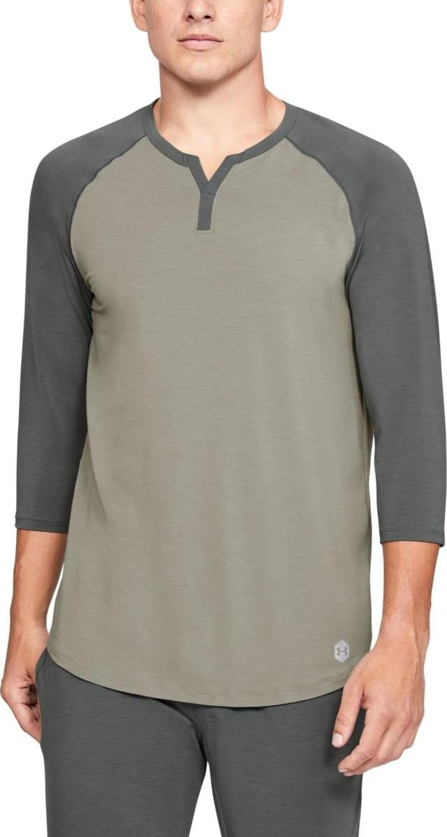 Tee-shirt à manches longues Under Armour UA Recover Sleepwear Henley