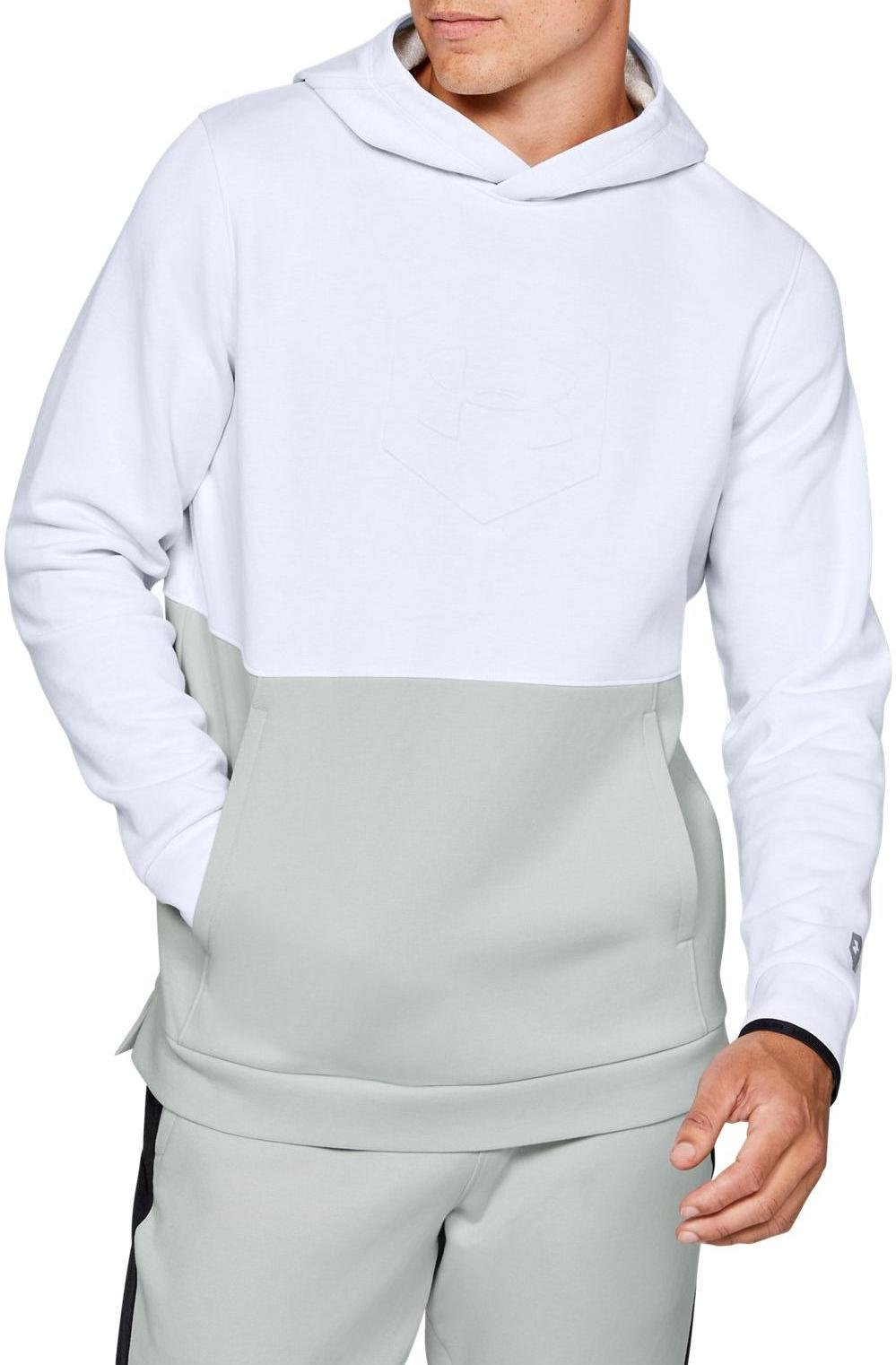 Sweatshirt à capuche Under Armour Athlete Recovery Fleece Graphic Hoodie