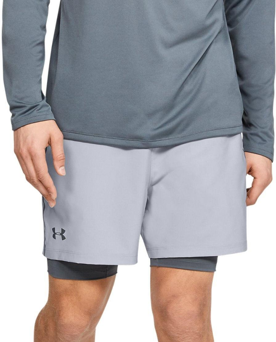 Pantalons courts Under Armour Qualifier 2-in-1 Short