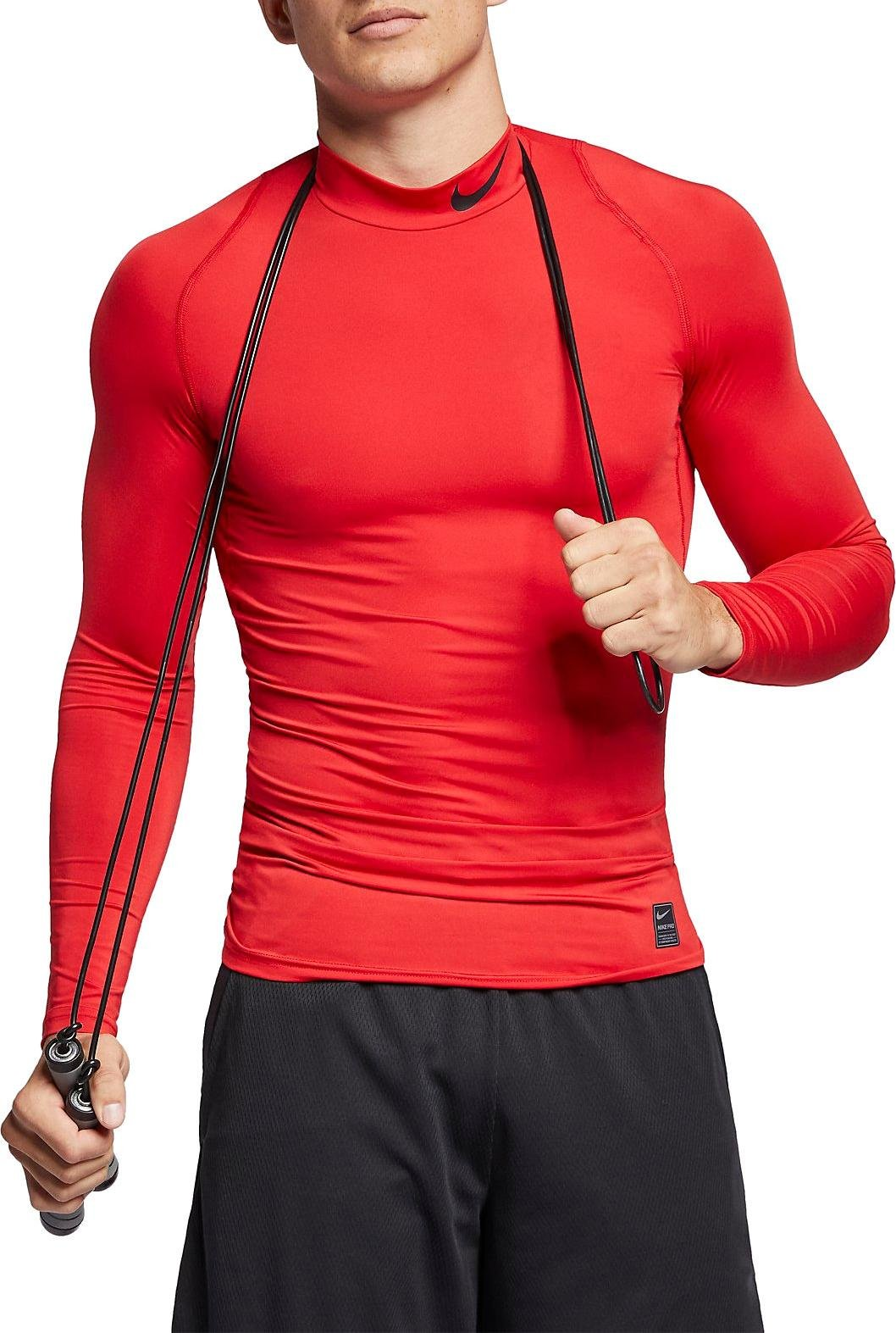 Chemise de compression Nike M NP TOP LS COMP MOCK